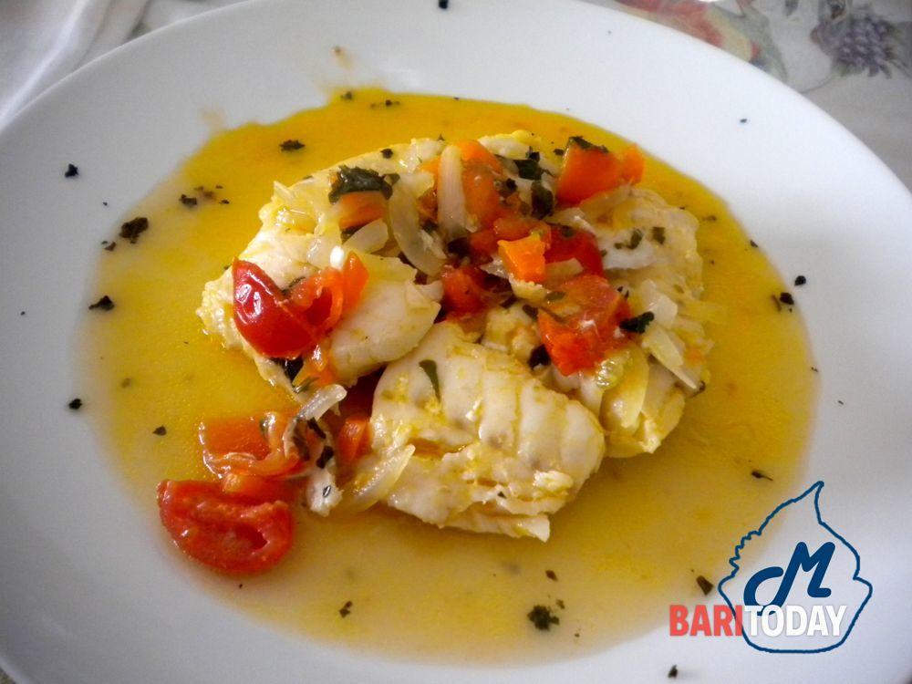 Filetto Di Merluzzo Con Cipolle E Pomodorini Blog