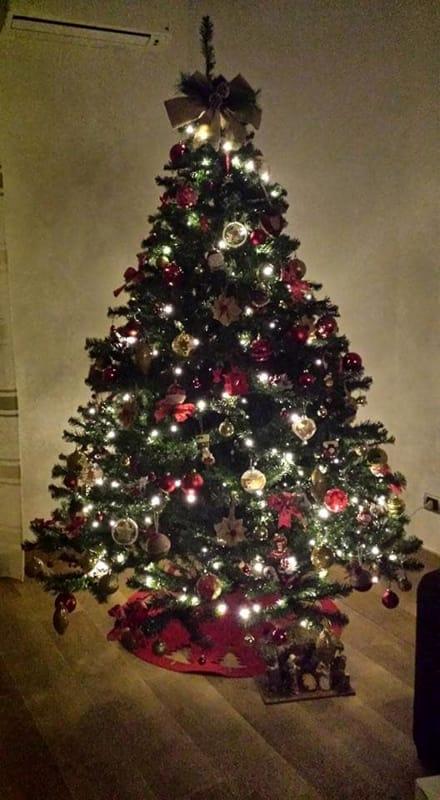 Foto Alberi Di Natale In Casa.L Albero Di Natale A Casa Dei Baresi Le Foto Dei Lettori Di