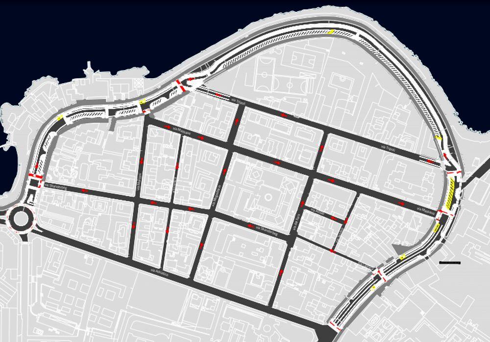 Due modifiche alla viabilità di San Cataldo, eliminate le chicane 'centrali'. Il Comune: