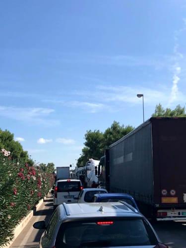 traffico via Napoli-2